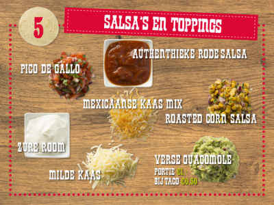 Salsa's 'n Toppings